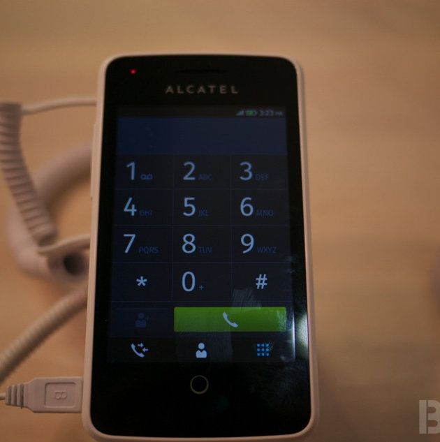 "Alcatel's ""One Touch Fire"""