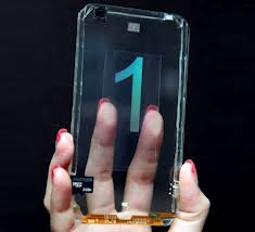 taiwanese transparent phone