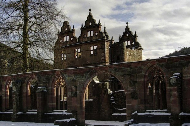A fifteenth century monastery in the Black Forest in Germany