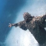 Christ of the Abyss in San Fruttuoso, Italy.