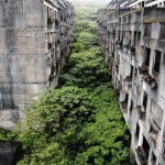 The abandoned city of Keelung in Taiwan.