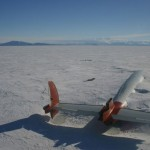 The remains of Pegasus in Antarctica.