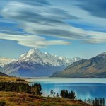 Lack Pukaki, New Zealand.