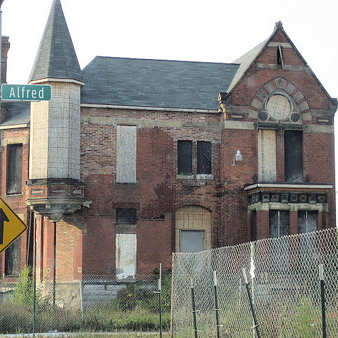The Gost Motor City of Detroit
