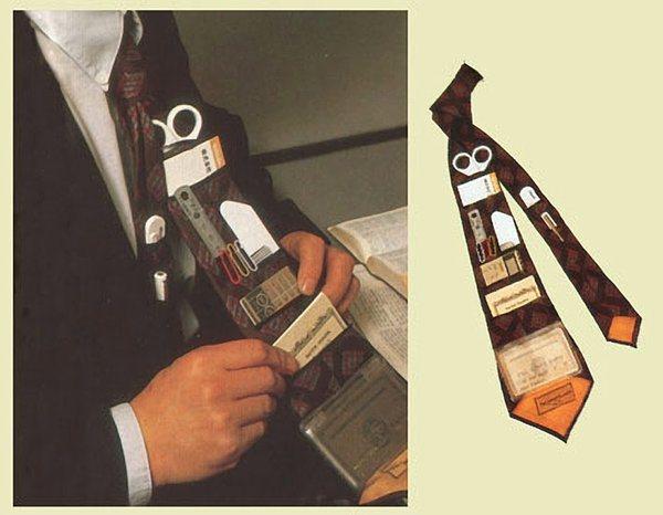 A portfolio tie.