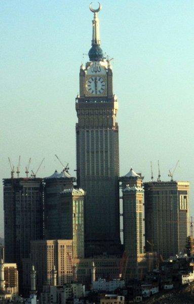 Abraj Al Bait Towers,  Mecca, Saudi Arabia