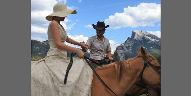 Marriage in Banff, Alberta, Canada
