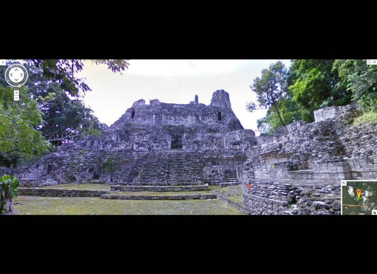 Mayan site of Becan, Mexico