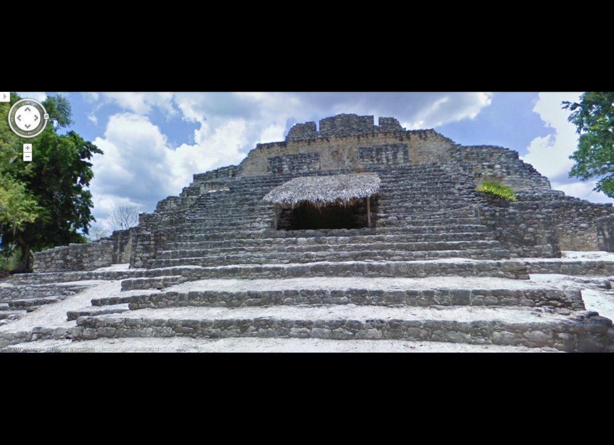 Mayan site Chacchoben, Mexico