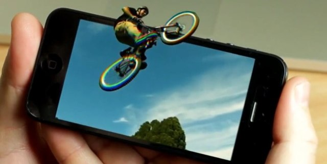 EyeFly 3D Iphone technology