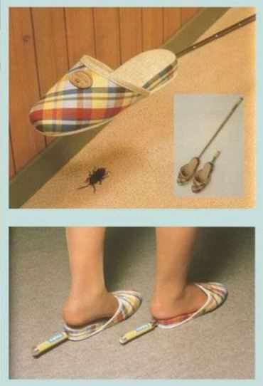 Fags slippers.
