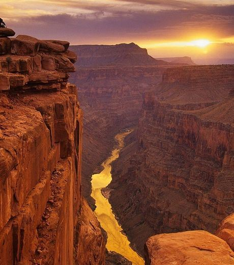 Sunset at Grand Canyon, USA