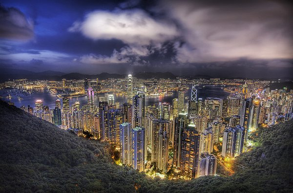 Number 6: Hong Kong