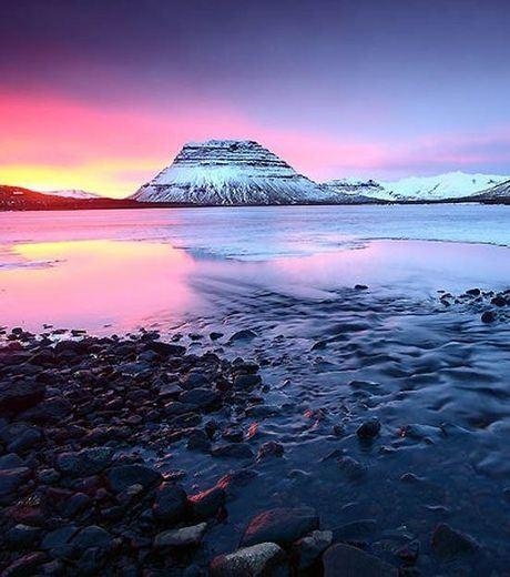 Sunset at Iceland