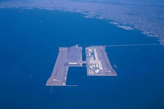 Internation Japanese Airport Of Kansai