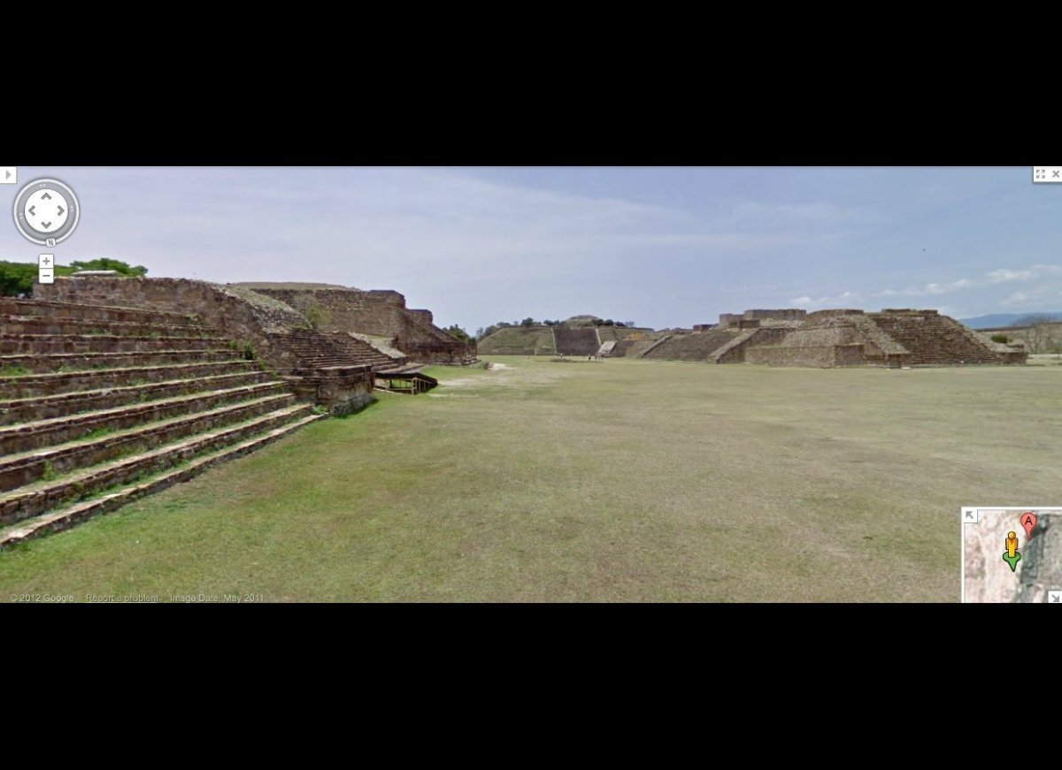 Mayan Site Of Monte Alban, Mexico