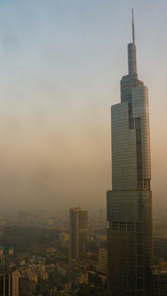Zifeng Tower,Nanjing, China