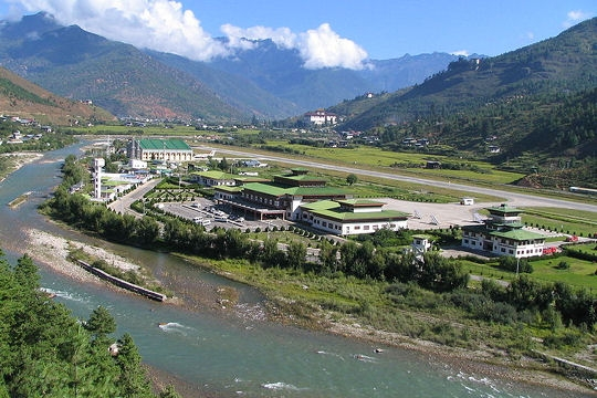 Parro Airport, Bhutan