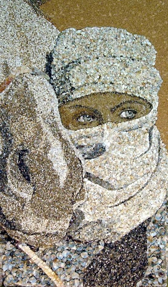 A veiled woman (Credit Svetlana Ivanchenko)