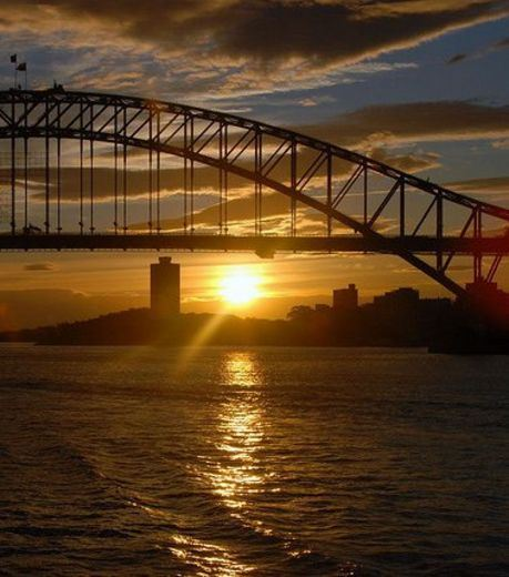 Sunset at Sydney, Australia