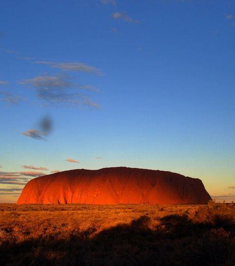 Sunset at The Uluru, Australia