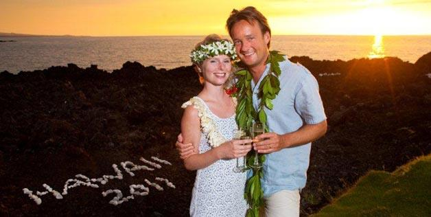 Marriage In Waikoloa Village, Hawaii