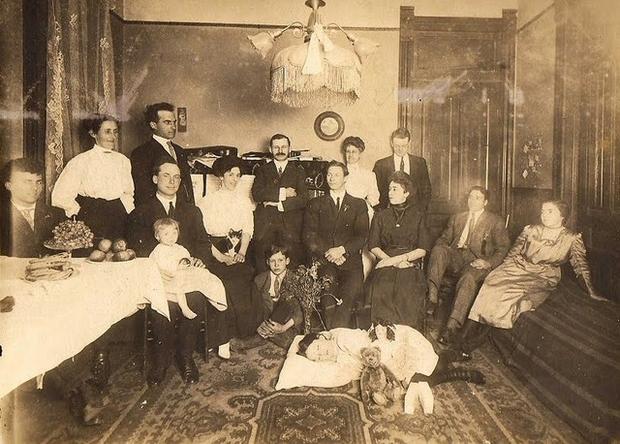 Post-Mortem Photograph