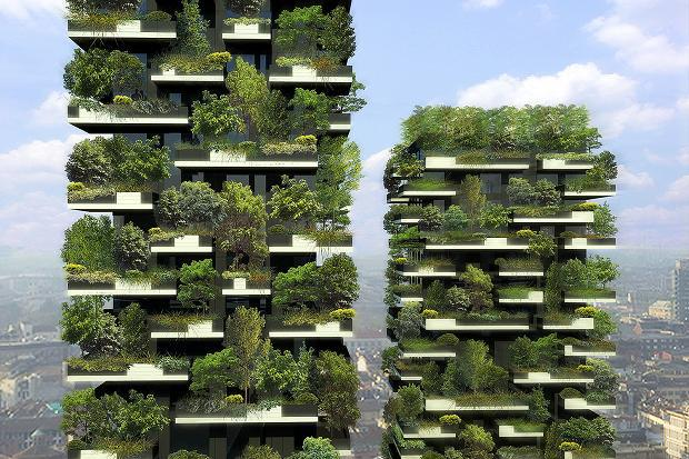 Bosco Verticale: The World's First Artificially Grown Residential Forests