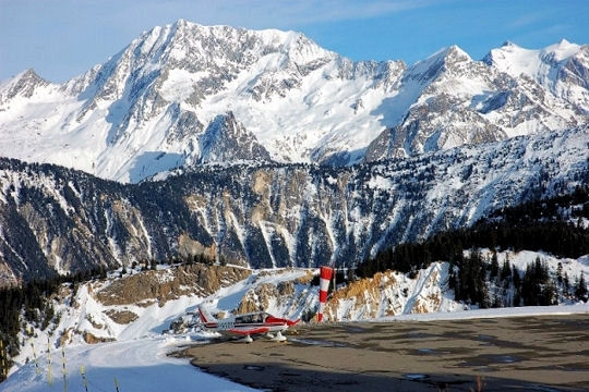 Courchevel Airport, Alpes