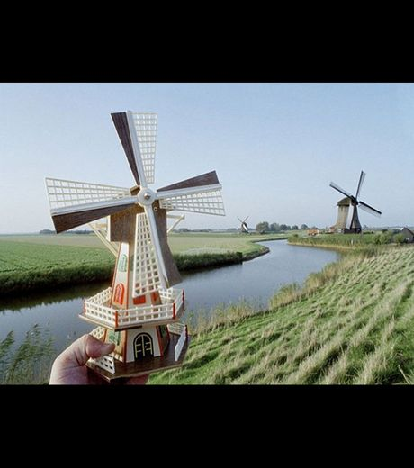 The wind mills in Holland (credit Michael Hughes)