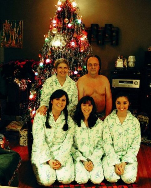Picture 24: Funny Christmas Photo