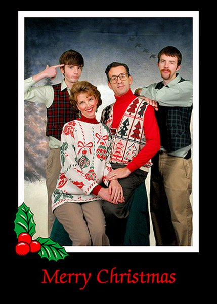 Picture 22: Funny Christmas Photo