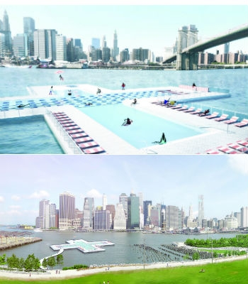 +Pool: A giant floating swimming pool for New Yorkers