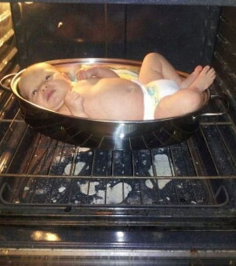 Never Put A Baby In A Frying Pan.