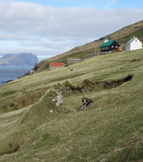 The village of Muli located on the Faroe Islands was abandoned by icts population.
