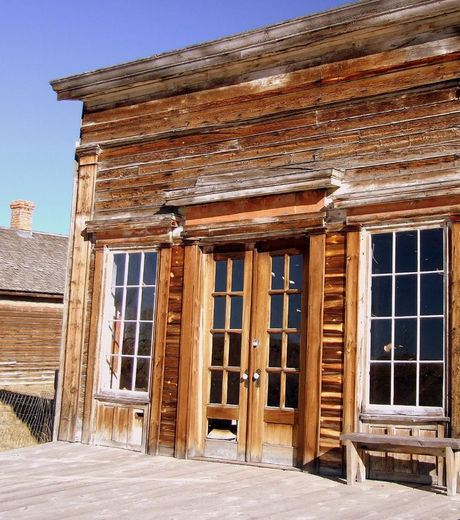 This abandoned town is Bannack in the State of Montana in the United States