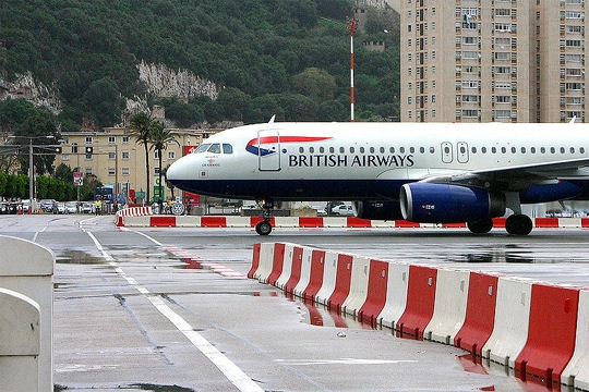 Gibraltor, Airport