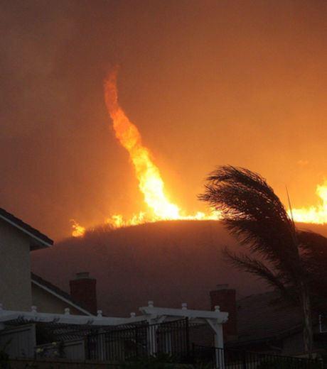 A Fire Tornadoe