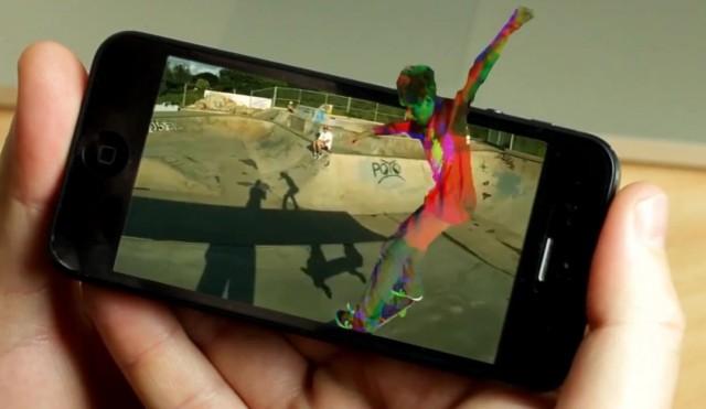 EyeFly 3D Iphone Technology