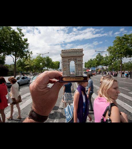 Arch Of Triumph in Paris, France(Credit Michael Hughes)
