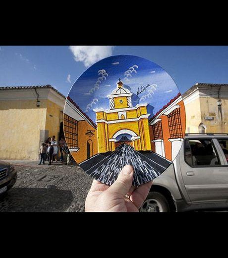 Santa Catalina Arch,  Antigua, Guatemala(Credit Michael Hughes)