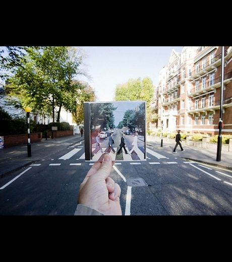The famous footpath on abbey road once taken by beatles (Credit Michael Hughes)