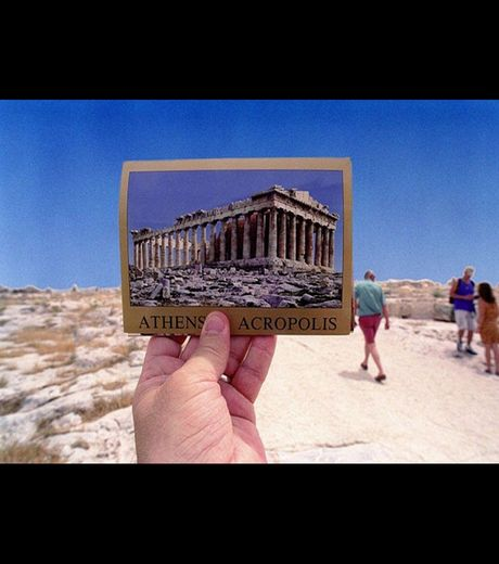 Parthenon in Athens (Credit Michael Hughes)