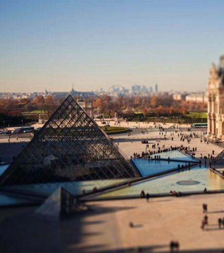 Louvre Museum/Palace In France (Credit Ben Thomas)