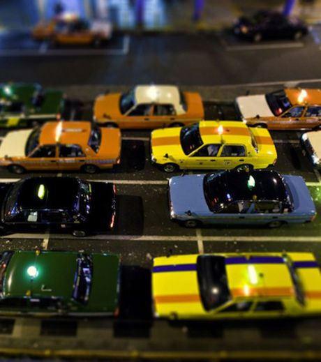 A traffic jam in Tokyo (Credit Ben Thomas)