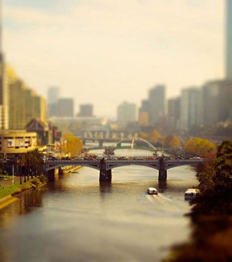 A bridge in the city of Melbourne (Credit Ben Thomas)
