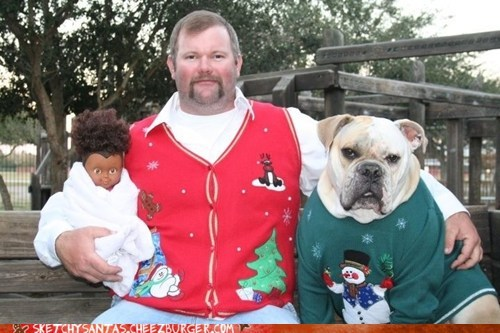 Picture 4: Funny Christmas Photo