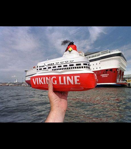 A cruiser in Helsinki, Finland (Credit Michael Hughes)