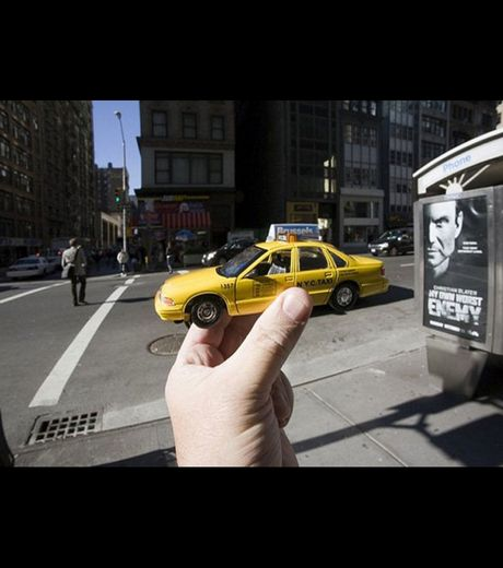 A Typical Taxi Of New York (Credit Michael Hughes)