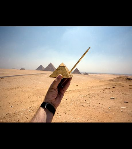 A pyramid in Egypt(Credit Michael Hughes)